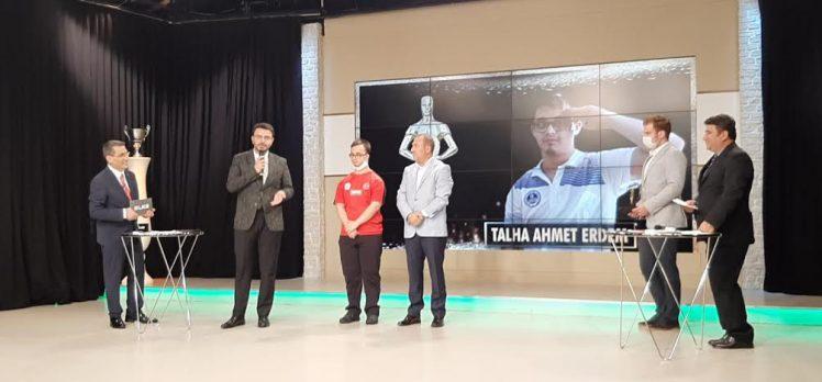 Kağıtspor'un Şampiyonları yılın sporcusu seçildi