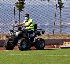 Suni Futbol Sahalarına Bakım Aracı
