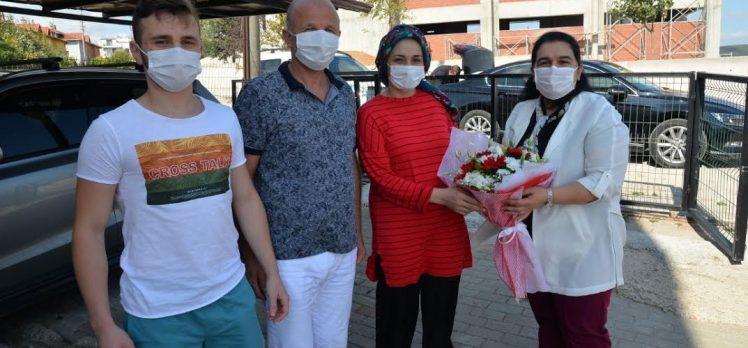 Bayan Yavuz'dan şehit ailesine ziyaret ziyaret