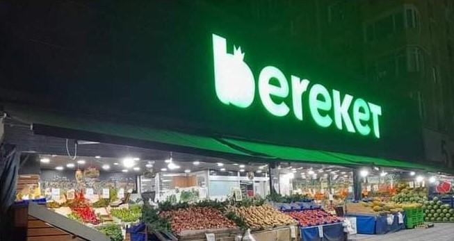 BEREKET MARKETE ÇİRKİN SALDIRI!