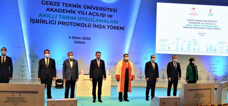"""GTÜ'de """"Akıllı Tarım"""" Protokolü İmzalandı"""