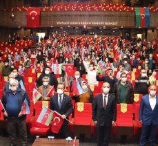 """BÜYÜKŞEHİR'DEN """"TEK MİLLET İKİ DEVLET"""" KONSERİ"""