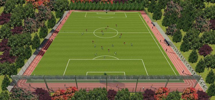 KULLAR'A FIFA STANDARTLARINDA FUTBOL SAHASI