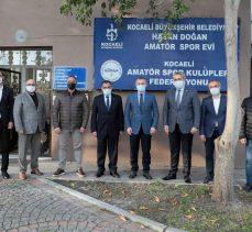 ''Amatör spor Kocaeli'de daha da güçlenecek''