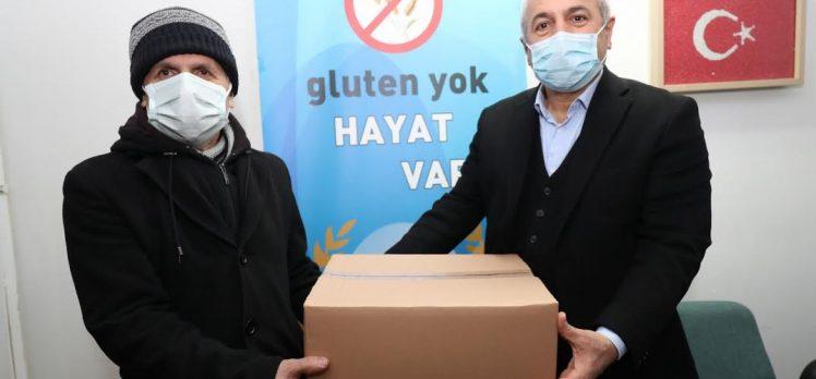 Büyükgöz'den Glutensiz Yaşam Derneğine destek
