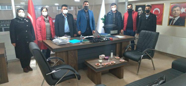 ONAT Alüminyum işçilerinden Gelecek Partisi'ne ziyaret