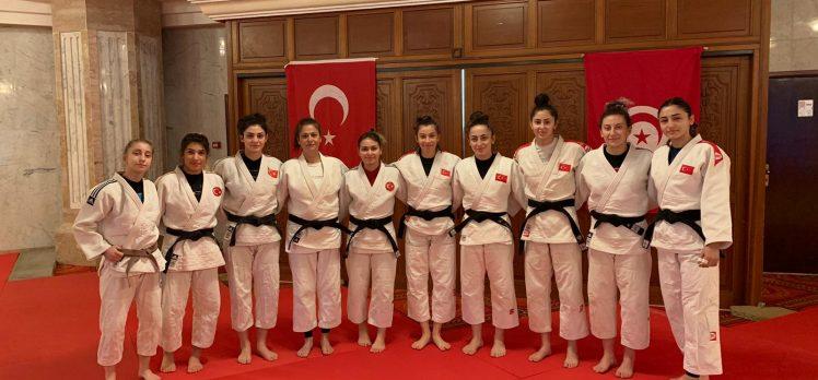 Judocular Milli takım kampı için Tunus'ta