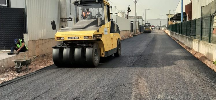 BaşiskeleVezirçifligiEnpay Sokak asfaltlandı
