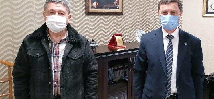 Tarihçi Rıdvan Şükür, Gebze Belediyesini ziyaret etti