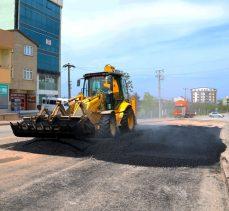 Gebze Yeni Bağdat Caddesi'nde asfalt yama çalışması