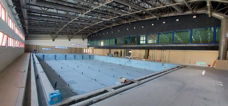 Gebze Yüzme Havuzu tamamlanıyor