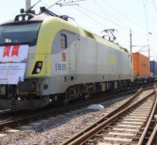 41 vagonlu 2 ihracat treni Kocaeli'den yola çıktı