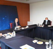 TOSB'un Ulaşım Sorunlarının İstişare Edildiği Toplantı, Vali Seddar Yavuz'un Başkanlığında Gerçekleştirildi