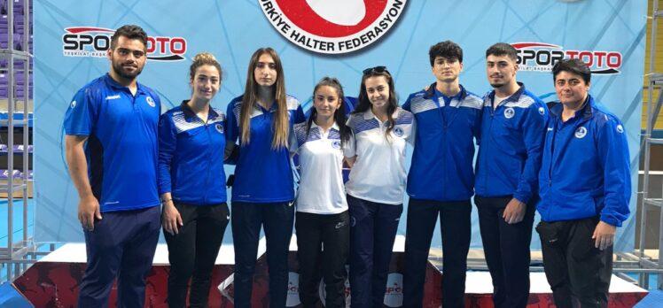 Halterciler Türkiye şampiyonu