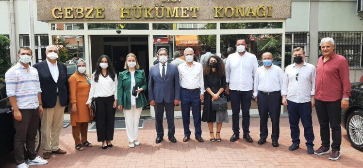 Milletvekili Zeybek'ten Kaymakam Güler'e Ziyaret