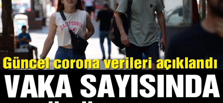 Corona vaka sayısında büyük artış