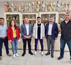 Gebze CHP'den Olimpiyat Şampiyonu Eray'a  altın