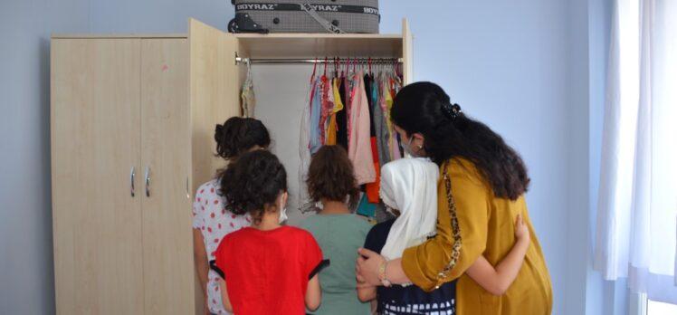 Bayan Yavuz, Sevgi Evleri Ziyaretlerine Devam Ediyor