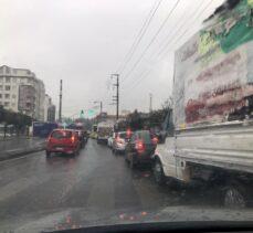Yağmur Gebze'yi felç etti