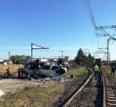 Tekirdağ'da tren kazası: 4 öldü, 8 yaral