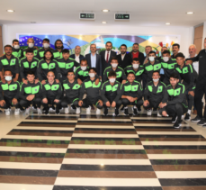 Çayırovaspor'dan Başkan Çiftçi 'ye ziyaret