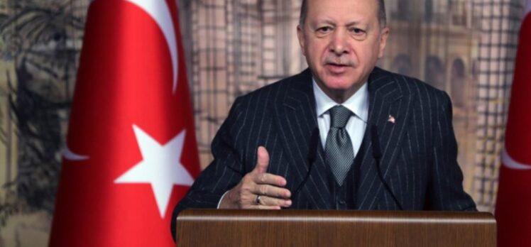 Cumhurbaşkanı Erdoğan: Ssalgın yavaş yavaş etkisini kaybediyor